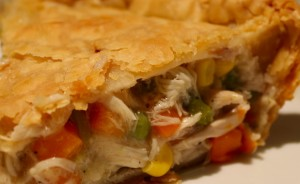 Chicken and Vegetable Pie Platter