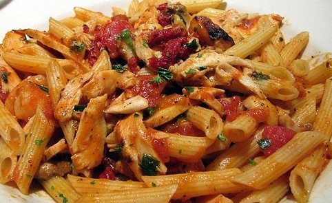 Chicken and Tomato Penne Pasta
