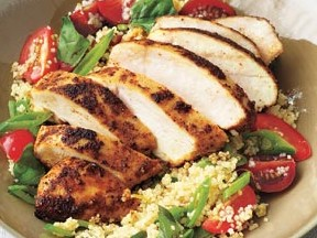 Grilled Chicken with Cous Cous